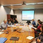 Actualités : Présentation power point pendant un comité stratégique